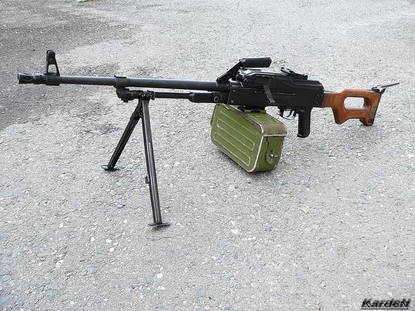 Пулемет Калашникова модернизированный - ПКМ