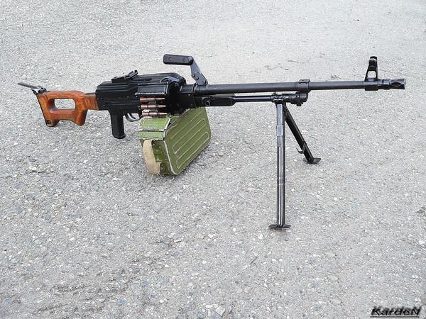 Пулемет Калашникова модернизированный - ПКМ фото 2
