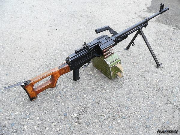 Пулемет Калашникова модернизированный - ПКМ фото 3