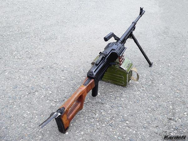 Пулемет Калашникова модернизированный - ПКМ фото 4