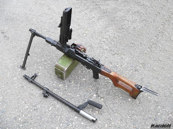 Пулемет Калашникова модернизированный - ПКМ фото 34