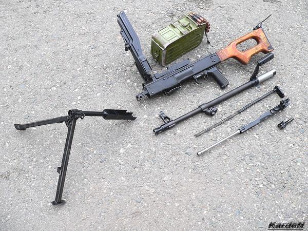 Пулемет Калашникова модернизированный - ПКМ фото 45