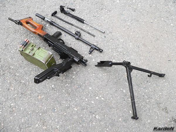 Пулемет Калашникова модернизированный - ПКМ фото 46