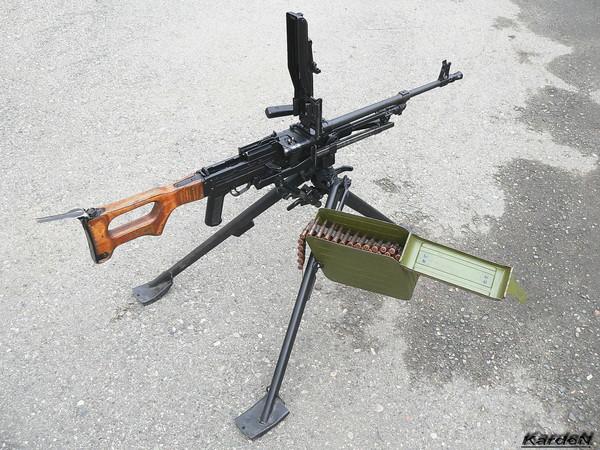 Пулемет Калашникова модернизированный - ПКМ фото 47