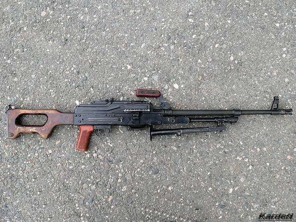 Пулемет Калашникова модернизированный - ПКМ фото 55