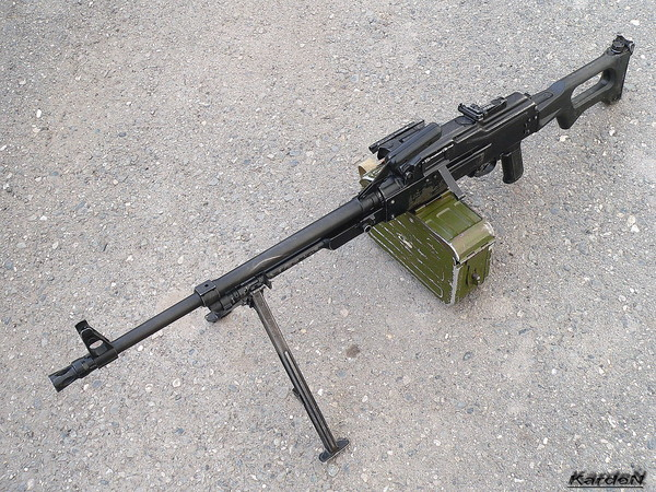 Пулемет Калашникова модернизированный - ПКМ фото 56