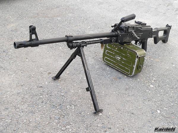 Пулемет Калашникова модернизированный - ПКМ фото 58
