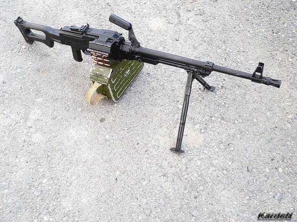 Пулемет Калашникова модернизированный - ПКМ фото 59