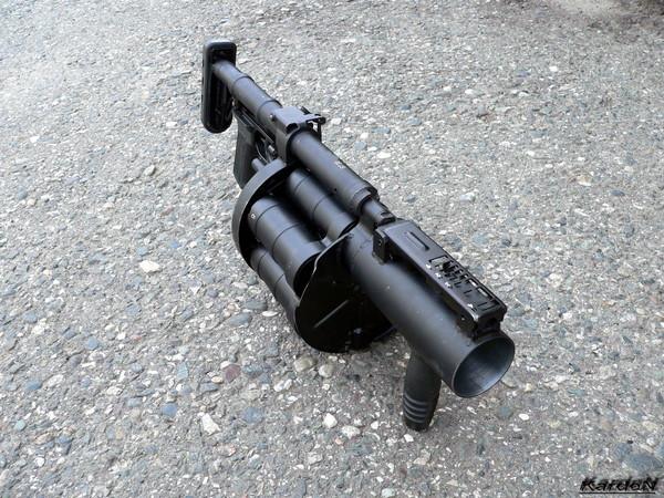 Ручной гранатомет - РГ-6 (6Г30) фото-4
