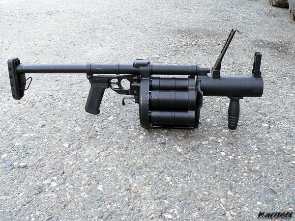 Ручной гранатомет РГ-6 (6Г30 - индекс ГРАУ)