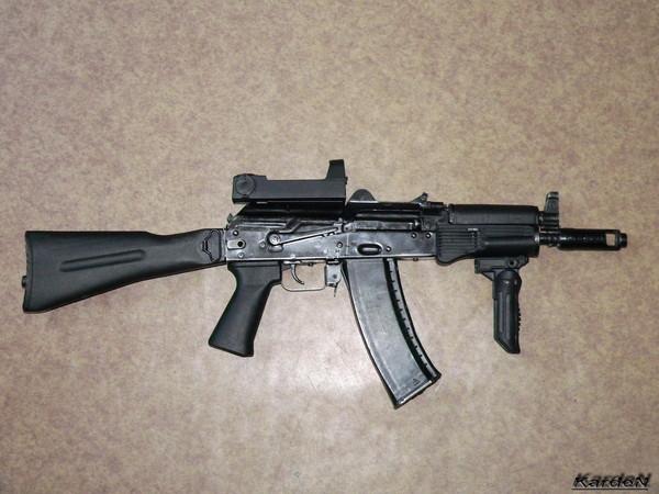 автомат Калашникова укороченный АКС-74У фото 27