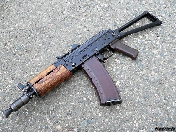 автомат Калашникова укороченный АКС-74У фото-2