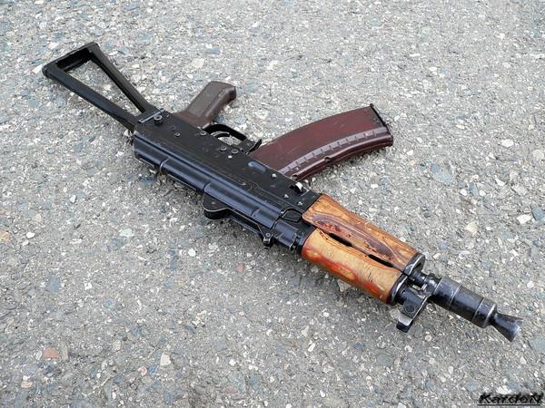автомат Калашникова укороченный АКС-74У фото 3