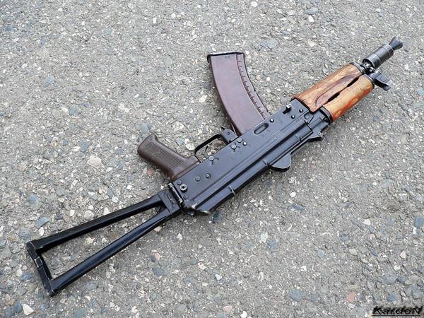 автомат Калашникова укороченный АКС-74У фото-4