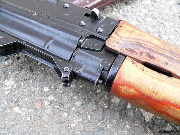 автомат Калашникова укороченный АКС-74У фото 8