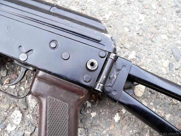 автомат Калашникова укороченный АКС-74У фото 9