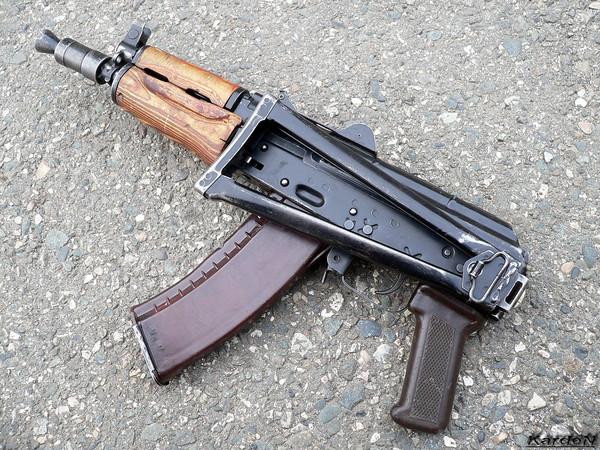 автомат Калашникова укороченный АКС-74У фото 10