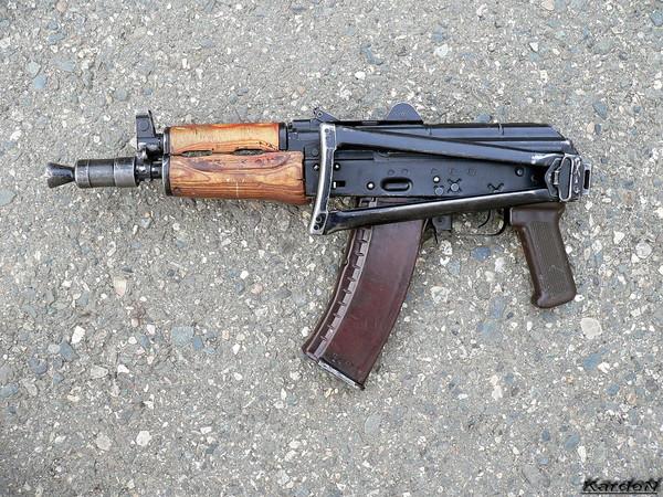 автомат Калашникова укороченный АКС-74У фото 11