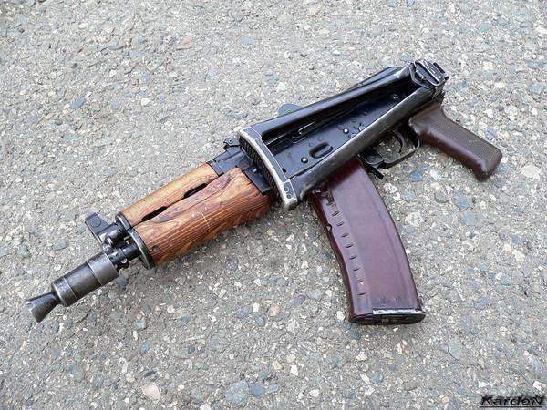 автомат Калашникова укороченный АКС-74У фото 12