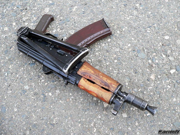 автомат Калашникова укороченный АКС-74У фото 13