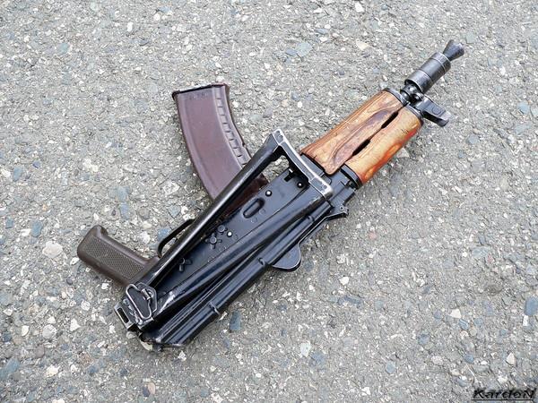 автомат Калашникова укороченный АКС-74У фото 14