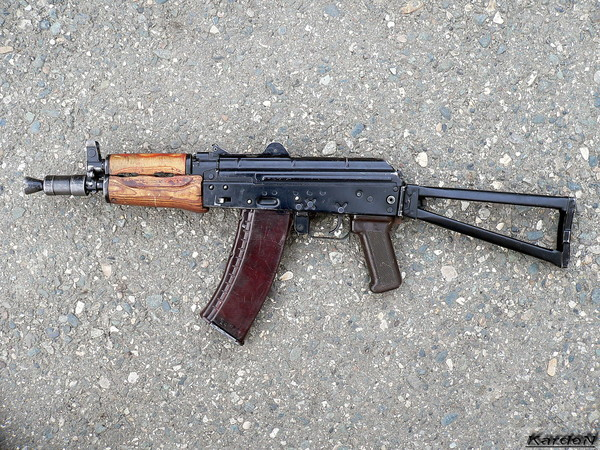 автомат Калашникова укороченный АКС-74У фото 15
