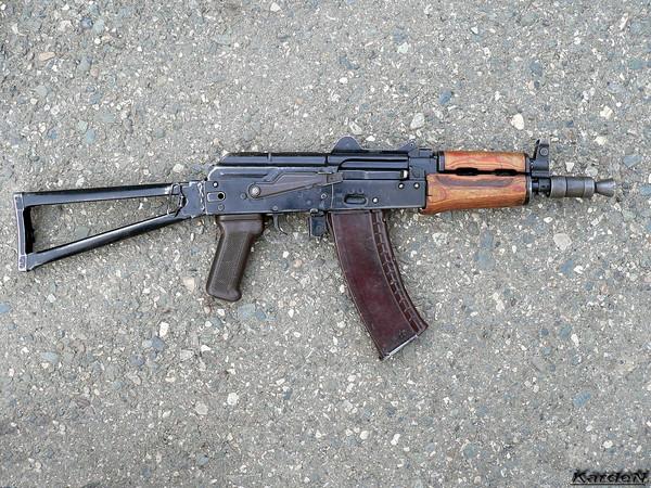 автомат Калашникова укороченный АКС-74У фото 16