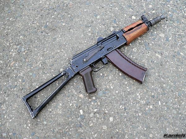 автомат Калашникова укороченный АКС-74У фото 17