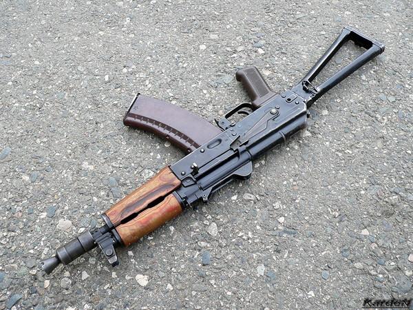 автомат Калашникова укороченный АКС-74У фото 18