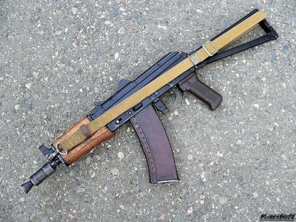 автомат Калашникова укороченный АКС-74У фото 24