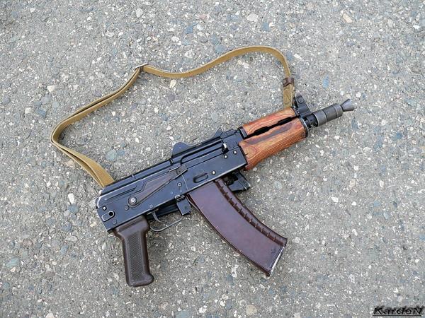 автомат Калашникова укороченный АКС-74У фото 25