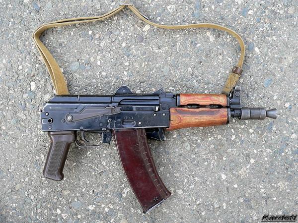 автомат Калашникова укороченный АКС-74У фото 26