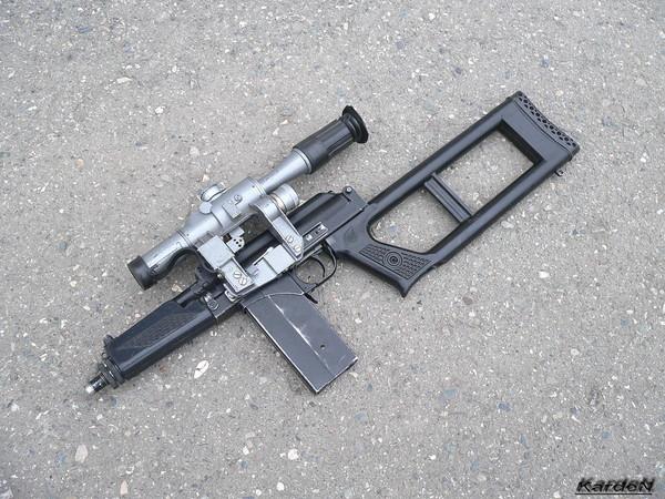 Винтовочный снайперский комплекс ВСК-94 фото-14