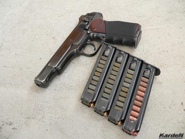 автоматический пистолет Стечкина - АПС фото-12