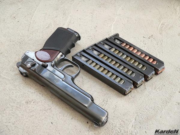 автоматический пистолет Стечкина - АПС фото 14