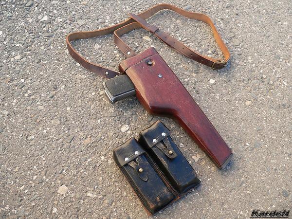 автоматический пистолет Стечкина - АПС фото 21