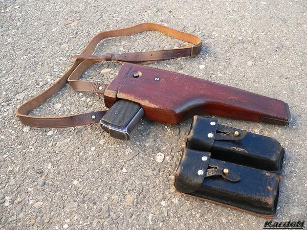 автоматический пистолет Стечкина - АПС фото 23