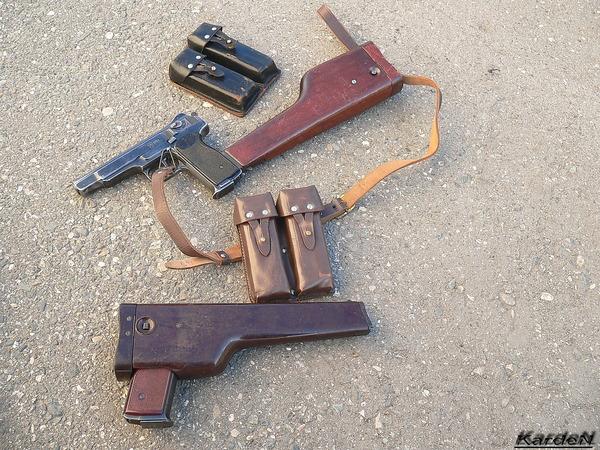 автоматический пистолет Стечкина - АПС фото 29