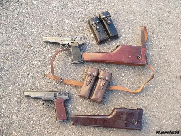 автоматический пистолет Стечкина - АПС фото 32