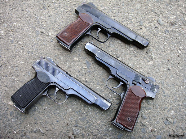 автоматический пистолет Стечкина - АПС фото 66