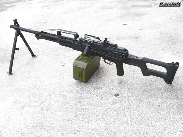Пулемет Калашникова пехотный «Печенег» фото 1