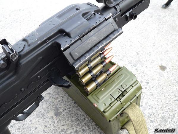 Пулемет Калашникова пехотный «Печенег» фото 8