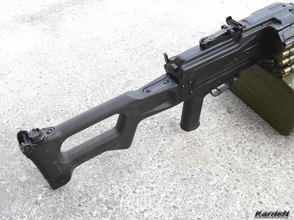 Пулемет Калашникова пехотный «Печенег» фото 9