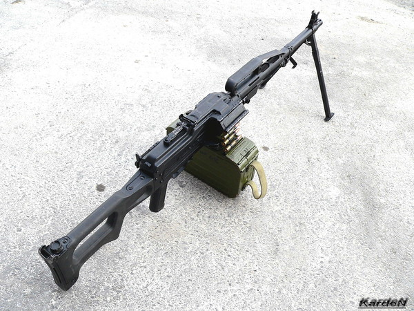 Пулемет Калашникова пехотный «Печенег» фото 10