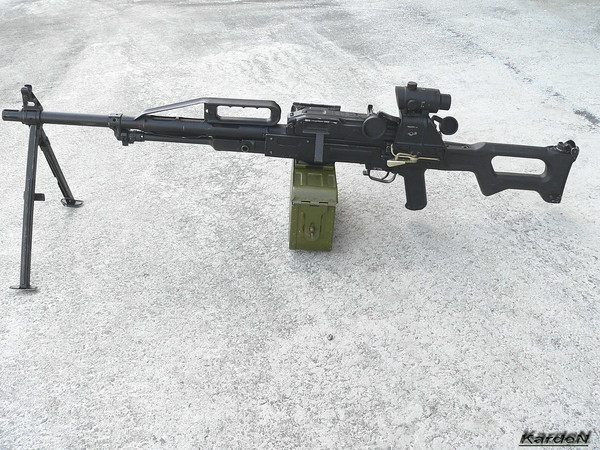 Пулемет Калашникова пехотный «Печенег» фото 16