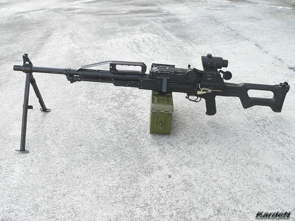 Пулемет Калашникова пехотный «Печенег» фото 17