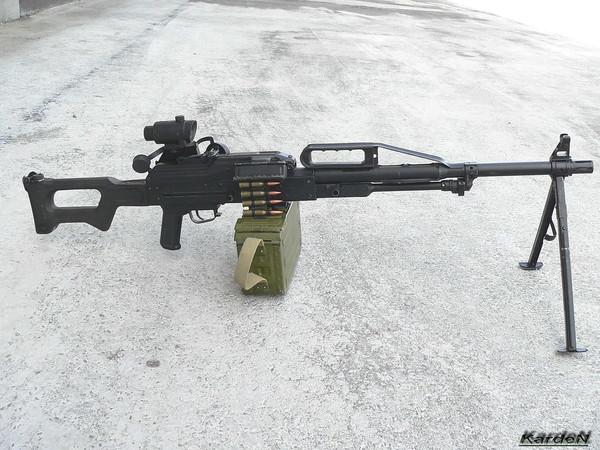 Пулемет Калашникова пехотный «Печенег» фото 18