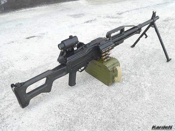 Пулемет Калашникова пехотный «Печенег» фото 23