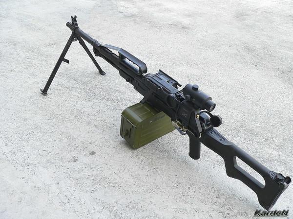 Пулемет Калашникова пехотный «Печенег» фото 24