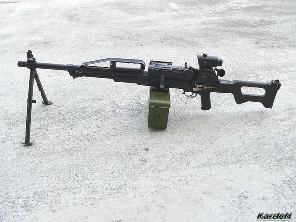 Пулемет Калашникова пехотный «Печенег» фото 25